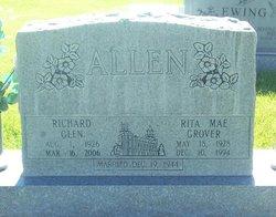 Rita Mae <i>Grover</i> Allen