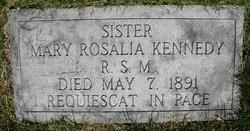 Sr Mary Rosalia Kennedy, RSM