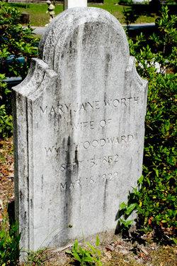 Mary Jane <i>Worth</i> Woodward