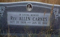 Rev Allen Carnes