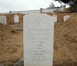 LCDR Anthony Lawrence Galletta, Sr