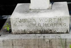 Julia Ada <i>Worth</i> Herring