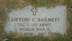 Clifton Cleatus Barnett