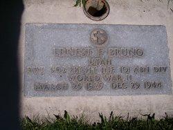 Pvt Ernest Felix Bruno, Jr