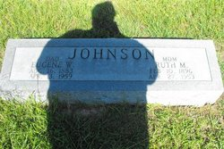 Ruth Mae <i>Hoover</i> Johnson