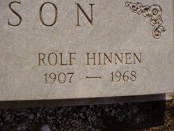 Rolf Hinnen Hanson
