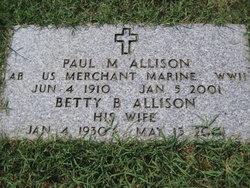 Paul M Allison