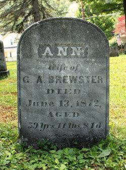 Ann <i>Watrous</i> Brewster