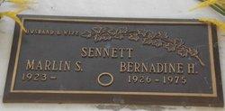 Bernadine H Sennett