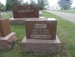 Marie Mary <i>Rosenkranz</i> Buthmann
