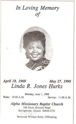 Mrs Linda Rachelle <i>Jones</i> Hurks