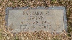 Barbara C Gwinn