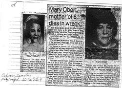 Mary <i>Nolan</i> Obert