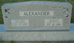 Jacquelin Watkins Jack Alexander