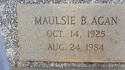 Maulsie Myrlene <i>Bell</i> Agan