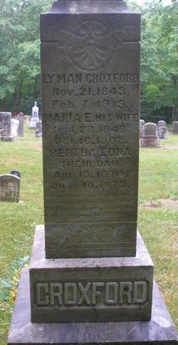 Maria Emery <i>Dodge</i> Croxford