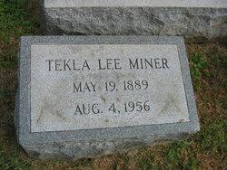 Tekla Lee Miner