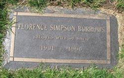 Florence <i>Simpson</i> Burrows
