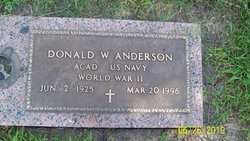 Donald Wallace Anderson