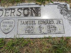 Samuel Edward Anderson, Jr