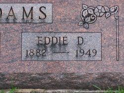 Edward David Eddie Adams