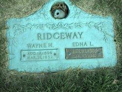 Edna L Ridgeway
