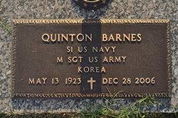 Sgt Quinton Barnes