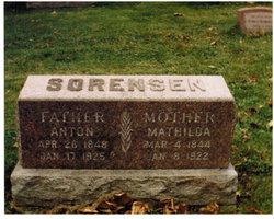 Mrs Mathilda Louise <i>Olsen</i> Sorensen