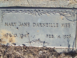 Mary Jane Darneille Mee