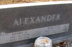 Henry Clayton Henry Alexander