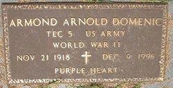 Armond Arnold Domenic