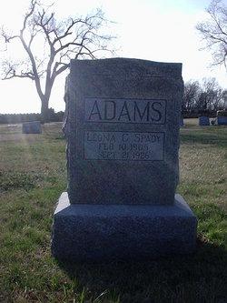 Leona C <i>Spady</i> Adams