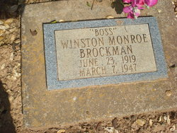Winston Monroe Boss Brockman