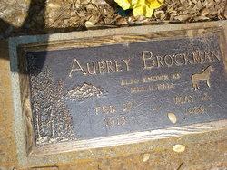 Aubrey Brockman