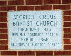 Secrest Grove Baptist Church Cemetery