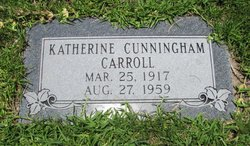 Katherine <i>Cunningham</i> Carroll