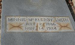 Minnie Gordon <i>McKleroy</i> Smith