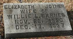 Elizabeth Joyner Barnes