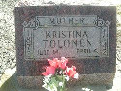 Kristina <i>Leinonen</i> Tolonen