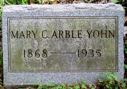 Mary C <i>Arble</i> Yohn