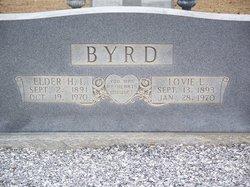 Lovie Lou Emma <i>Andrews</i> Byrd