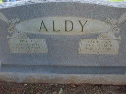 Fadie Jane <i>Cain</i> Aldy