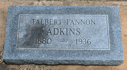 Talbert Fannon Adkins