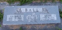 Ida Mae <i>Kirtland</i> Ball