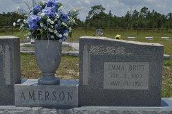 Emma <i>Britt</i> Amerson