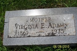 Virginia Evelyn <i>Blaine</i> Adams