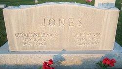Geraldine Elva <i>Metz</i> Jones