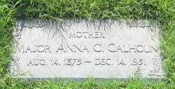 MAJ Anna C Calhoun