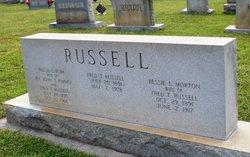 Bessie L. <i>Morton</i> Russell