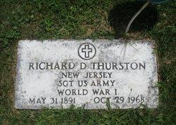 Sgt Richard D. Thurston
